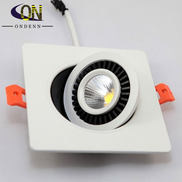 16pcs/lot Dimmable COB LED Downlight 3W 5W 7W Surface Mounted LED Down Lamp LED Down Light AC110V/220V Free Shipping