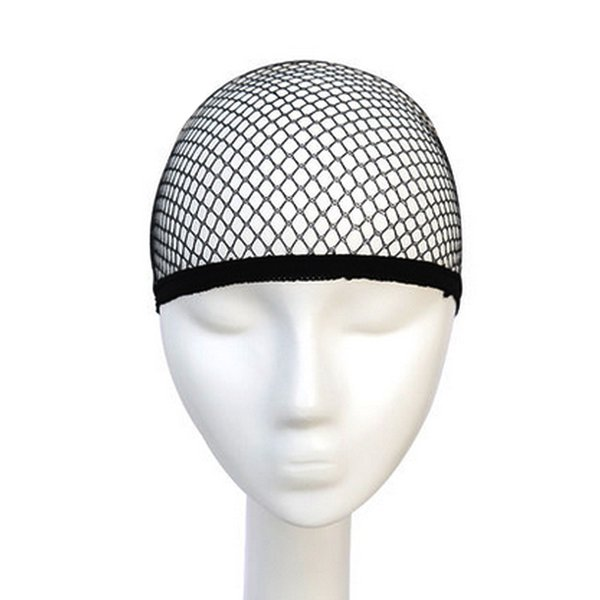 Hairnets good Quality Mesh Weaving Black Wig Hair Net Making Caps, Weaving Wig Cap & Hairnets 5pcs