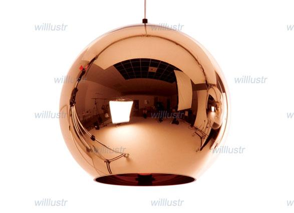 Free shipping hot selling Tom Dixon Copper Shade (Dia 25cm),modern lamp Pendant Lamp Ceiling lamp suspension lighting