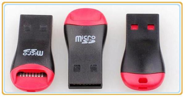 Lector de tarjetas USB TF USB 2.0 Micro SD T-Flash TF M2 Lector de tarjetas de memoria Adaptador de alta velocidad para 4 gb 8 gb 16 gb 32 gb 64 gb Tarjeta Micro SD MQ1000