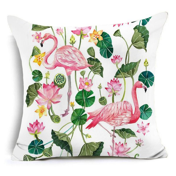 High Quality Nordic Cartoon Polyester Cushion Covers Scenic Throw Pillow Cover Sofa Decorative Pillow Case Home Decor