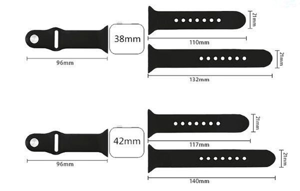 Buy Wholesale 3in1 38mm M/L Size Band Sports Silicone Bracelet ...