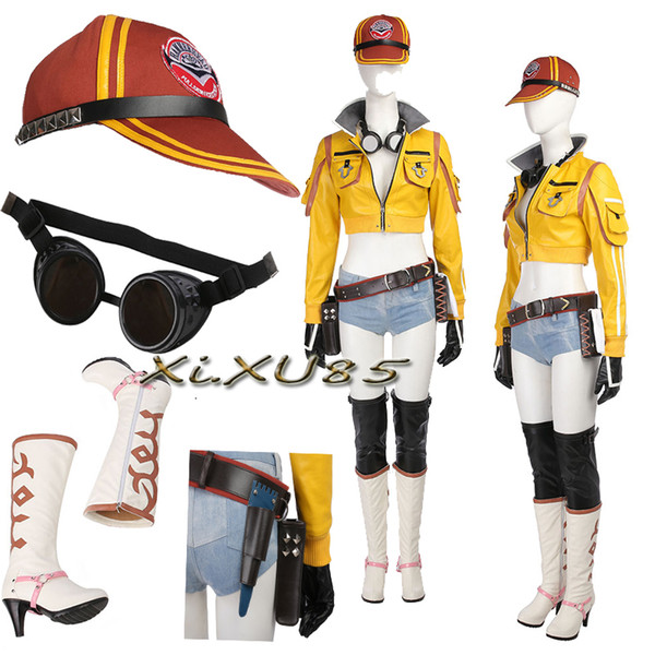 Hot Sexy FF15 Kingsglaive Final Fantasy XV Cindy Aurum Cosplay Costume  Unisex Clothes Halloween Custom Made Outfit Canada 2019 From  Manmeilinxiao2016,