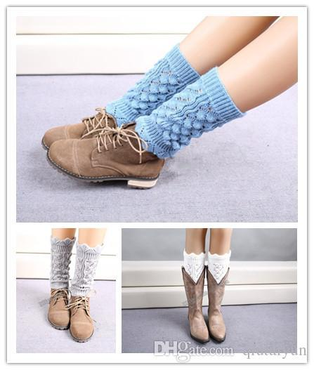 Crochet Boot Cuff New Arrival Knitted Boot Cuff fashion Lady Crochet Boot Cuff Fashion Warm knitted leg warmers B179