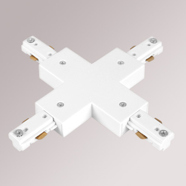 Four way connector white body