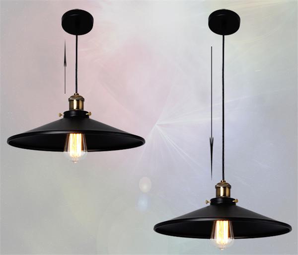 Vintage American Country Chandelier Edison LED Industrial Pendant Lamps Halogen Retro Iron Pendant Lamps cafe shop 2pcs/lot E27 ty-001-1