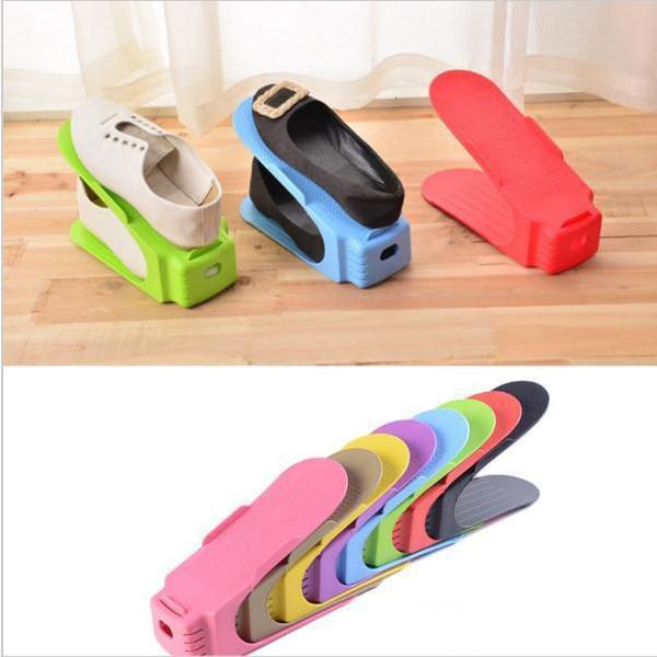 Scarpiere Modern Double Cleaning Storage Scarpe Rack Soggiorno Comodo Shoebox Shoes Organizer Stand mensola c294