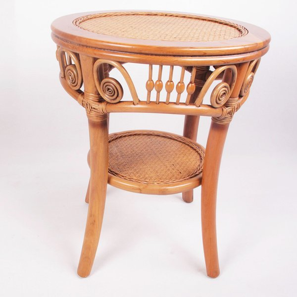 Enron House rattan furniture round table at the table a few corner a few tea table Leisure table capable of accommodating double