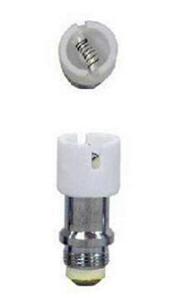 ceramic coil core for Globe Wax Dry Herb herbal Vaporizer pyrex glass bulb Wax tank Vapor wax Atomizer coil head Clearomizer ego