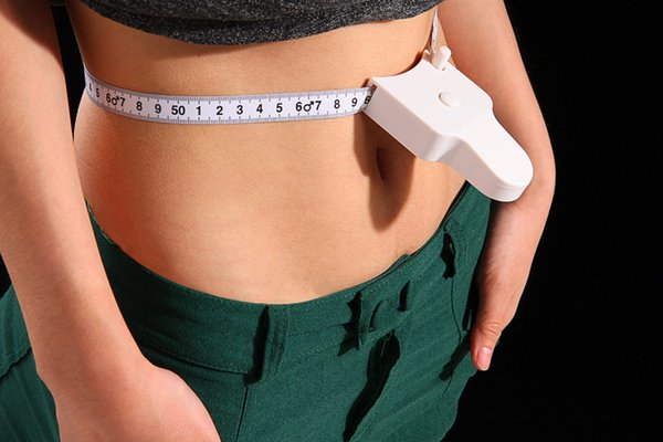 top popular 1000pcs High Quality 1.5m Fitness Accurate Body Fat Caliper Measuring Body Tape Ruler Measure Tape Measure White Body Fat Caliper 2021