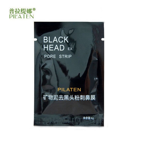 top popular PILATEN Face Care Facial Minerals Conk Nose Blackhead Remover Mask Pore Cleanser Deep Cleansing Black Head EX Pore Strip 2021