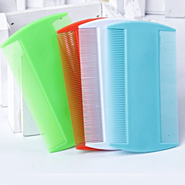 best selling 4 Pcs Double Sided Nit Comb Fine Tooth Head Lice Hair Combs for Kids Pet Flea