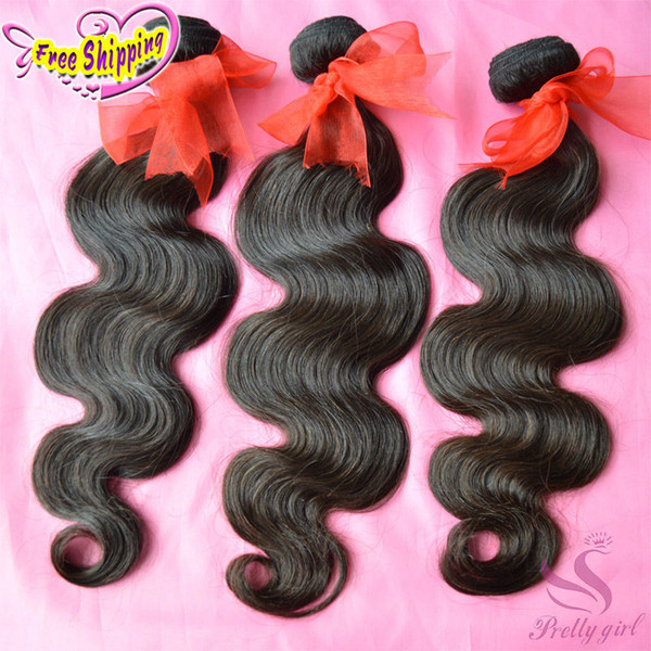 Malaysian Virgin Hair Body Wave Unprocessed 7A Brazilian Cambodian Russian Eurasian Filipino Peruvian Human Hair Weave Bundles Natural Color