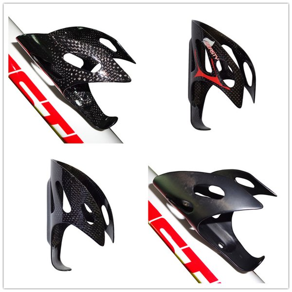 BC1099 NEASTY brand full carbon fiber road bike and mountain bike water bottle cage wholesale factory carbon black/red decal finished