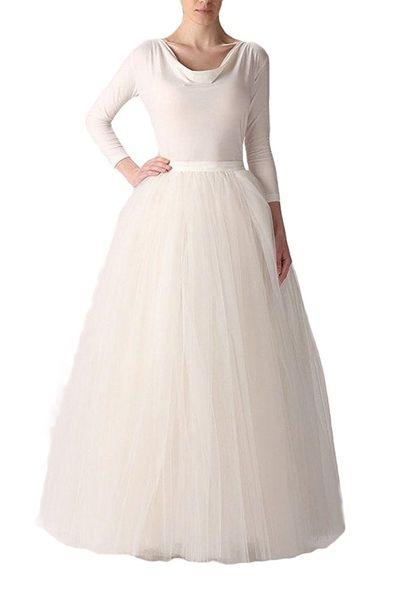 20b56d68b6 Super Cheap Ball Gown 6 Hoops Petticoat Wedding Slip Crinoline ...
