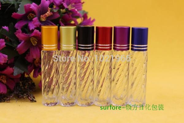 Flacone in vetro da 3,5 ml Flacone in vetro da 3,5 ml Flacone cosmetico Passavivande piccole bottiglie di profumo flaconi vuoti