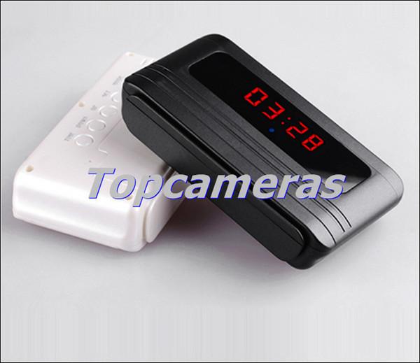 V6 24 Hours 720p clock camera Table Clock Camera mini DVR baby monitor H.264 + 140 degree Motion Detection