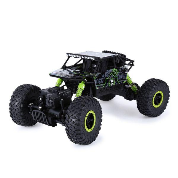 Hot Sale RC Car 2.4Ghz 4WD 1/18 4 Wheel Drive Rock Crawler Rally Car 4x4 Double Motors Bigfoot car Off-Road Vehicle Toys