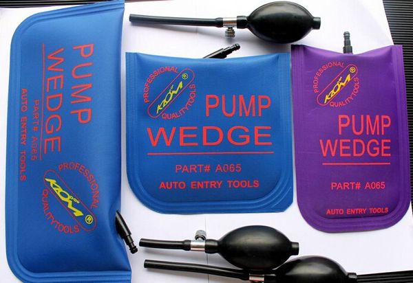 best selling Genuine U shape KLOM Tool AirBag Vices Door Wedge Car Automobile Pump 3 sizes