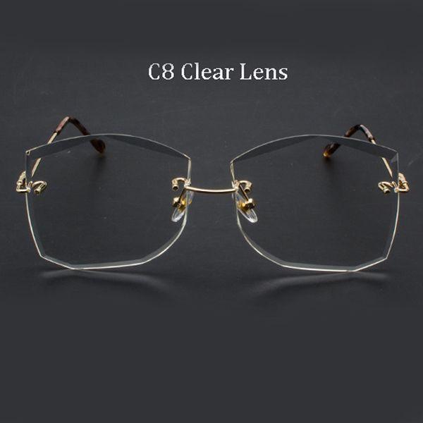 C8 Clear Lens