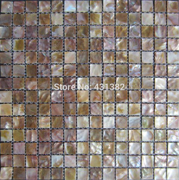 FREE SHIPPING mother of pearl tiles shell Mosaic Tile,decorative materials,kitchen backsplash, bathroom wall flooring tiles