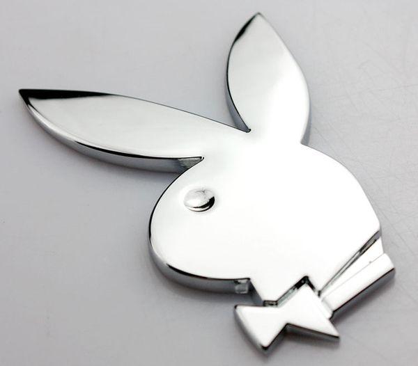 Großhandel Hohe Qualität Lustige Playboy Prinzessin 3d Vollmetall Auto Emblem Aufkleber Auto Aufkleber Dekorationen Auto Styling Aufkleber Für Suv