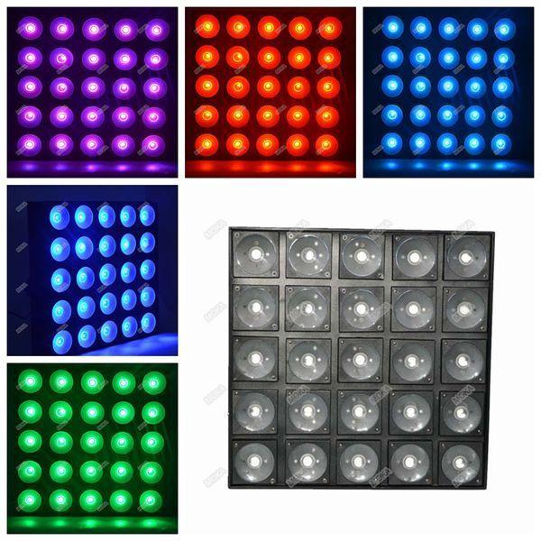 Moka MK-LM01 800W LED 25x30W 3 in 1 Matrix Blinder Beam Light RGB Stage Effect Light