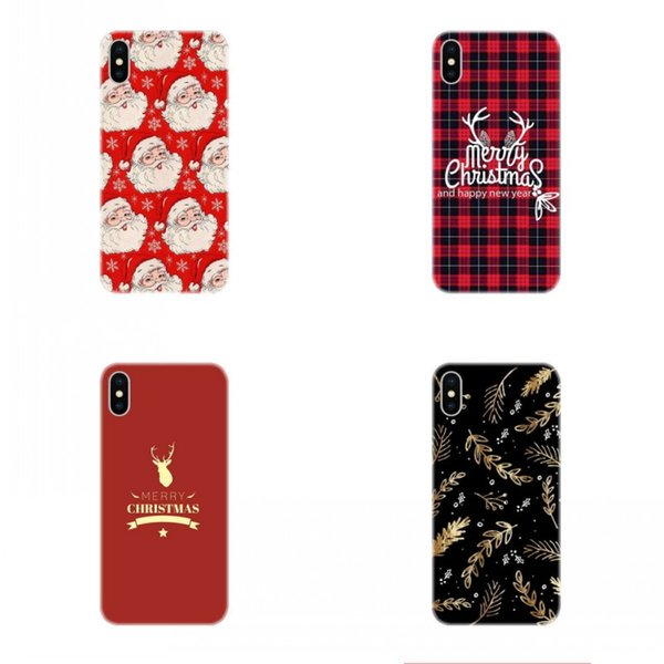 Christmas Iphone X Case.For Apple Iphone X Case For Iphone 8 7 Plus Iphone 6s Tpu Box Creative Christmas Elk Merry Christmas Gift Cell Phone Cases Mobile Phone Case Phone
