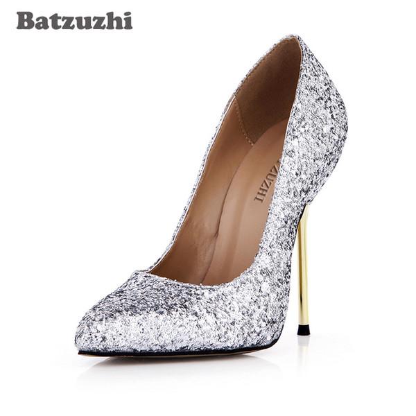 NUOVO design super sexy lusso Scarpe da Donna Trasparente Glitter PUMPS Tacco Alto