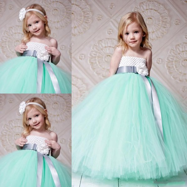 Spring 2016 Gorgeous Ball Gown Flower Girl Dresses Wedding Gowns ...
