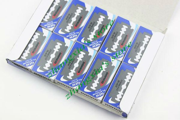 Good Quality 100 pcs Per Pack Dorco Platnum ST300 Stainless Steel Double Edge Blade Safety Razor Blade,Free Shipping