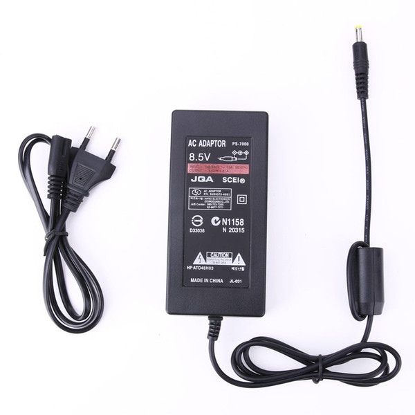Power Supply Adapter Replacement AC 100~240V to DC 8.5V 5.6A Cable Console Charger for Sony Playstation2 PS2 70000 EU Plug