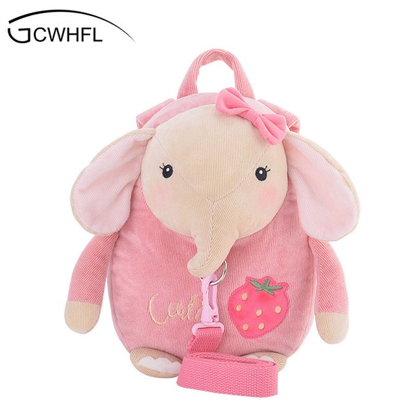 Cute Rabbit Anti -Lost School Bags For Girls Bunny Plush Toy Baby Girl Backpack Kindergarten Bags Children 'S Gifts For Age 1 -3