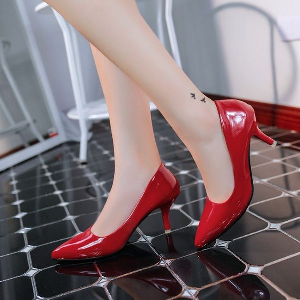 2015 Korean version of the new high heels with fine ladies fashion sexy shoes