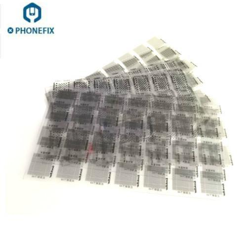 FIXPHONE High quality 12pcs Solder Mask Ink Tool Kit for Repair iPhone iPad NAND Flash Power Touch IC Chip Reballing Logic Board