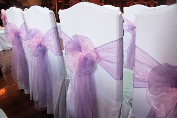 Beautiful Wedding Chair Sashes New Arrival Chair Covers Beatiful Decorations Popular Custom Made 2018 Wedding Supplies