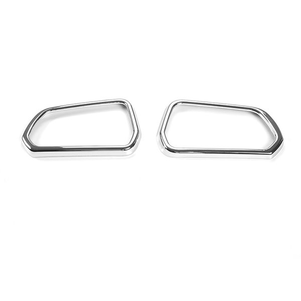 Espelho Retrovisor do carro Decoração Capas Cobre Anel Fit Para Ford Mustang 2015-2016 Acessórios Interiores 2 pcs ABS