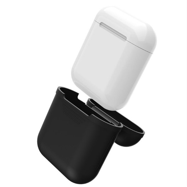For Apple AirPods Silicone Case Protective Skin Wireless Bluetooth Cover for Apple Airpods Charging with Retail package DHL EAR266