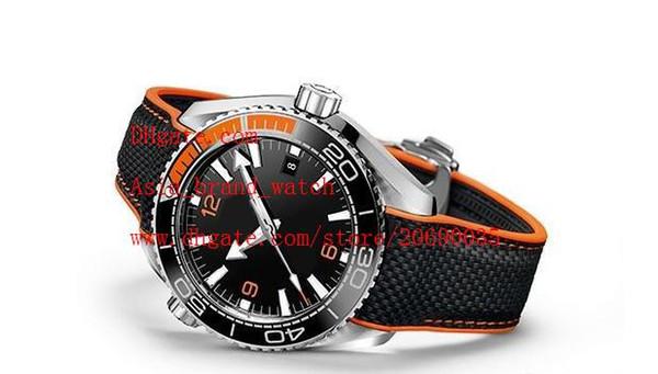 Relojes de pulsera de proveedores de fábrica 52mm Planet Ocean Co-Axial 600M 215.32.44.21.01.001 Relojes mecánicos automáticos para hombre Relojes para hombres