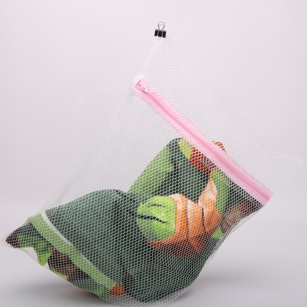 top popular 30*40CM Washing Machine Specialized Underwear Washing Bag Mesh Bag Bra Washing Care Laundry Bag attractive in price and quality 2019