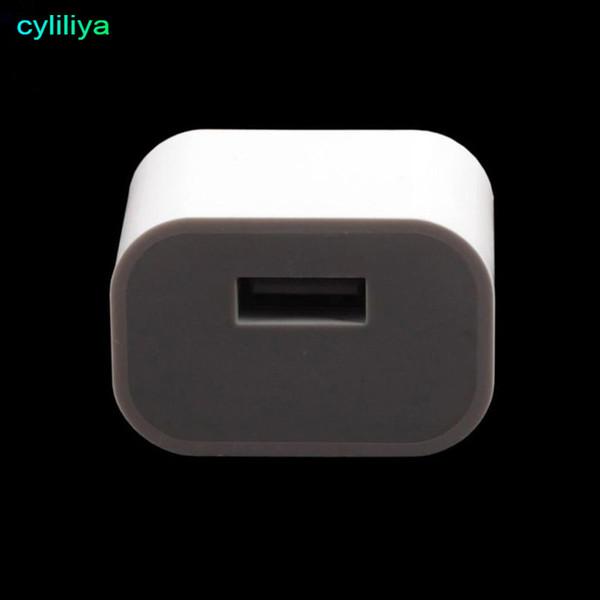 Alimentatore da parete USB universale da 5V a spina australiana Caricabatteria da viaggio CA piccolo alimentatore quadrato per iPhone 7/6 Plus Samsung