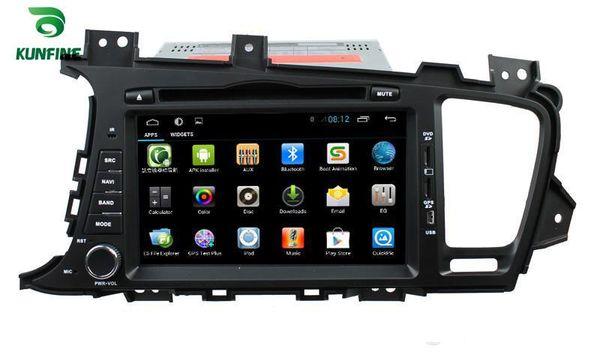 Quad Core 1024 * 600 Pantalla HD Reproductor de navegación GPS con DVD para automóvil 5.1 para KIA K5 / OPTIMA 2011-2013 Radio Bluetooth Control del volante 3G