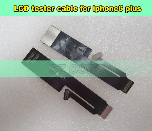 8 PCS LCD touch screen Digitizer Extension Tester Flex Cable for iPhone 4 4S 5 5C 5S 6 6 plus 6S 6S Plus