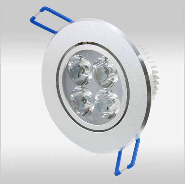 top popular 12W Dimmable LED Downlights Round with driver LED lights ceiling light downlight free ship 2019