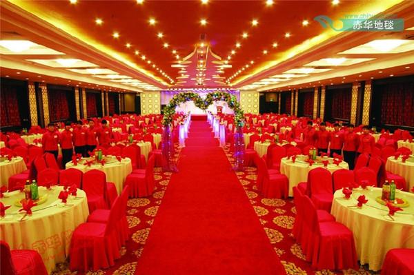 top popular Wholesale-Wedding Decoration Red Carpet Wedding Carpet Wedding Carpet Red party Carpet hotel bar decor Free shipping 2019
