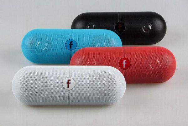 Pill XL Bluetooth Mini altavoz Protable inalámbrico Estéreo Música Caja de sonido Audio Super Bass U Disco TF Ranura con mango DHL GRATIS comprando