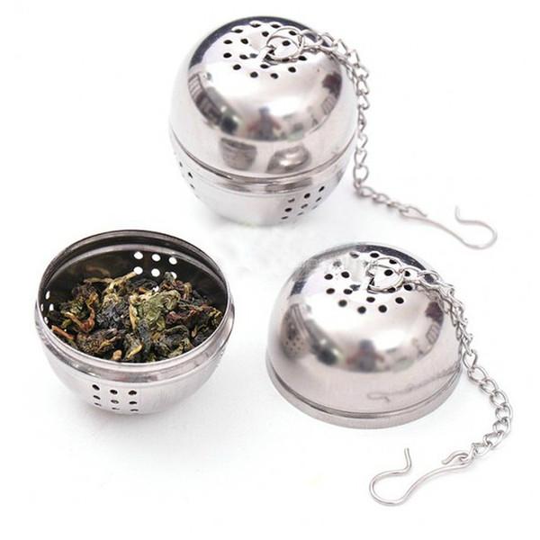 Filtro de malla de acero inoxidable bola de té colador infusor filtro herramientas de cocina XX15-3-14