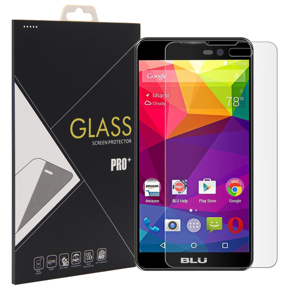 2.5D High Quality HD Clear Tempered Glass Screen Protector for BLU Advance 5.0 glass protective film 9H hardness protector Wholesale