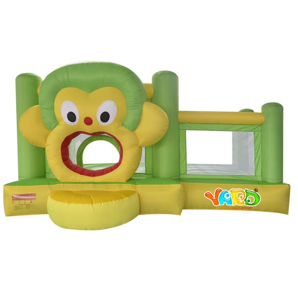 YARD buon prezzo casa uso casa di rimbalzo mini bouncer gonfiabile saltatore moonwalk trampolino giocattoli con ventilatore