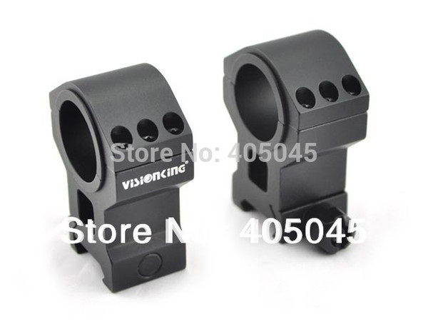 Visionking Rifle Scope Picatinny Mount Rings 25.4mm 30mm Mount For .223 .308 .50 Optical Sight Bracket For Riflescope Ring Mount